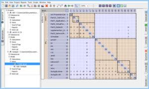 Lattix Architect DSM Model