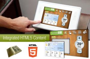 Hybrid Storyboard Browser HTML5 UI