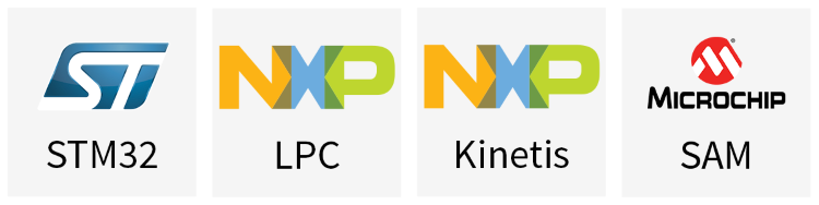 Cortex-M Vendor Logos