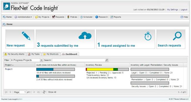FlexNet Code Insight Desktop